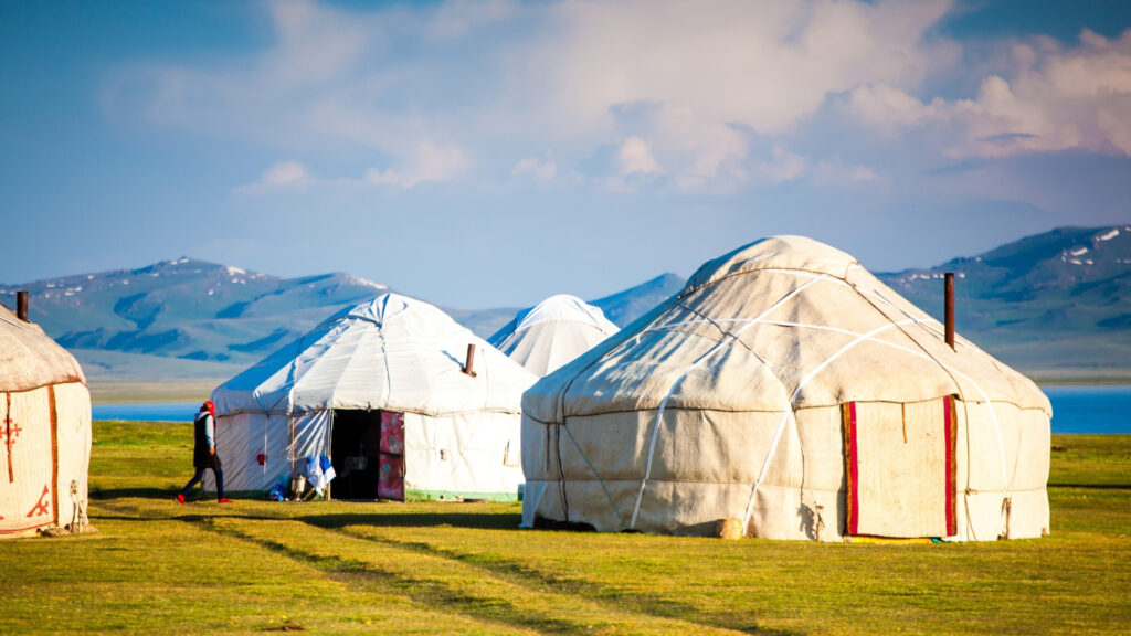 Nomaden in Kirgizië