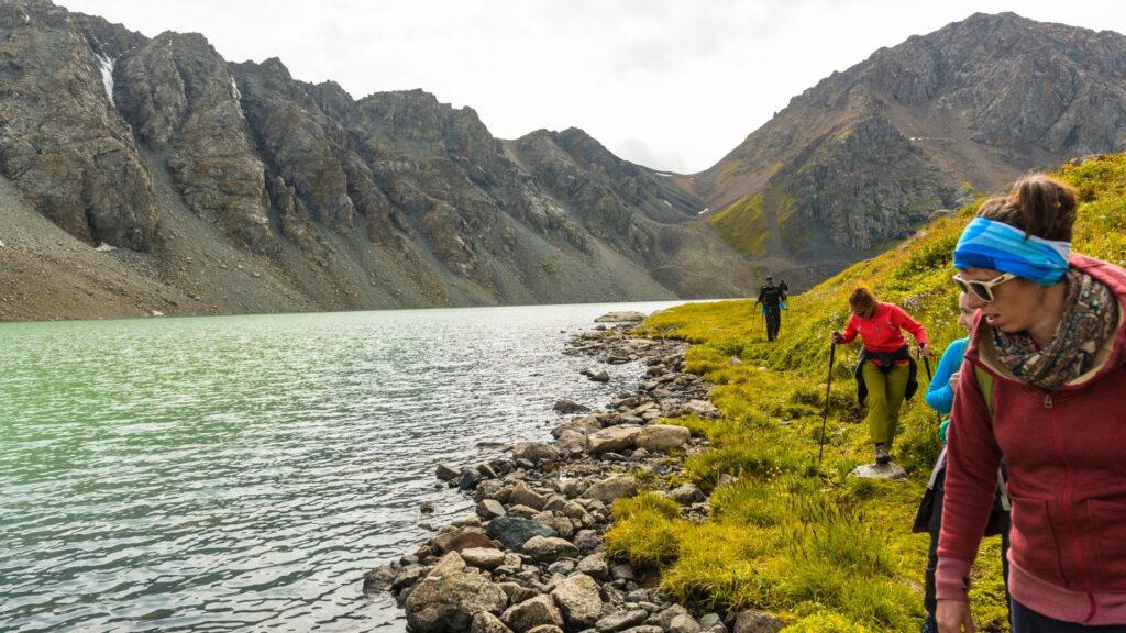 Trektocht doorheen Kirgizië
