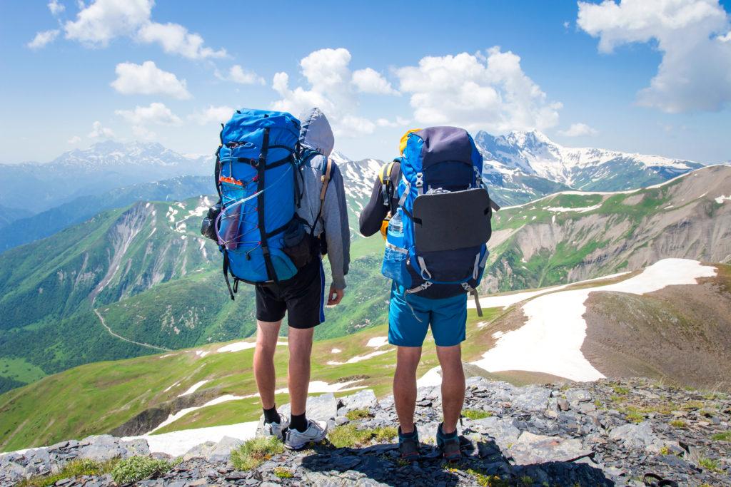 Trekking in Svaneti met de trekzak