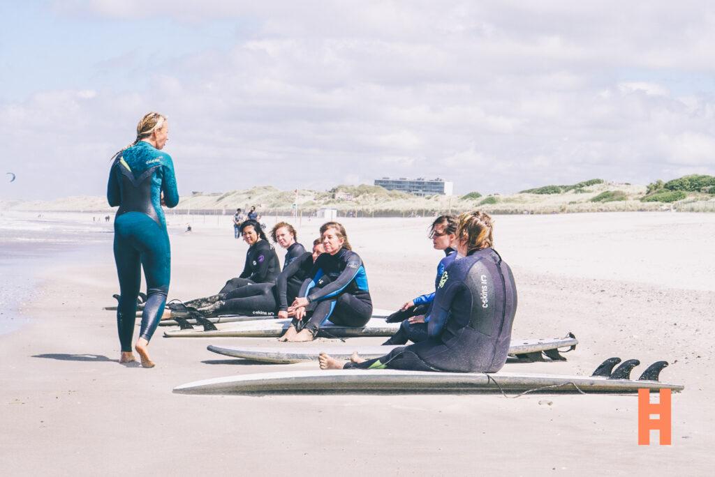 Surfen in eigen bubbel aan de Belgische kust
