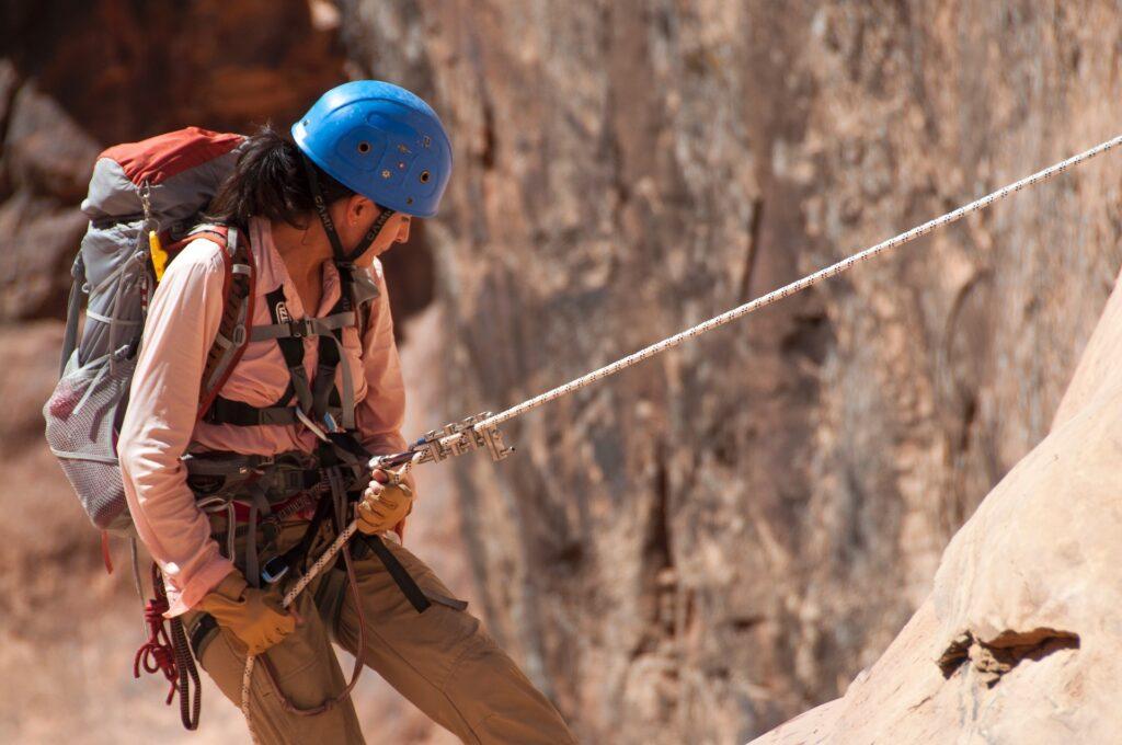 Abseilen en klimmen