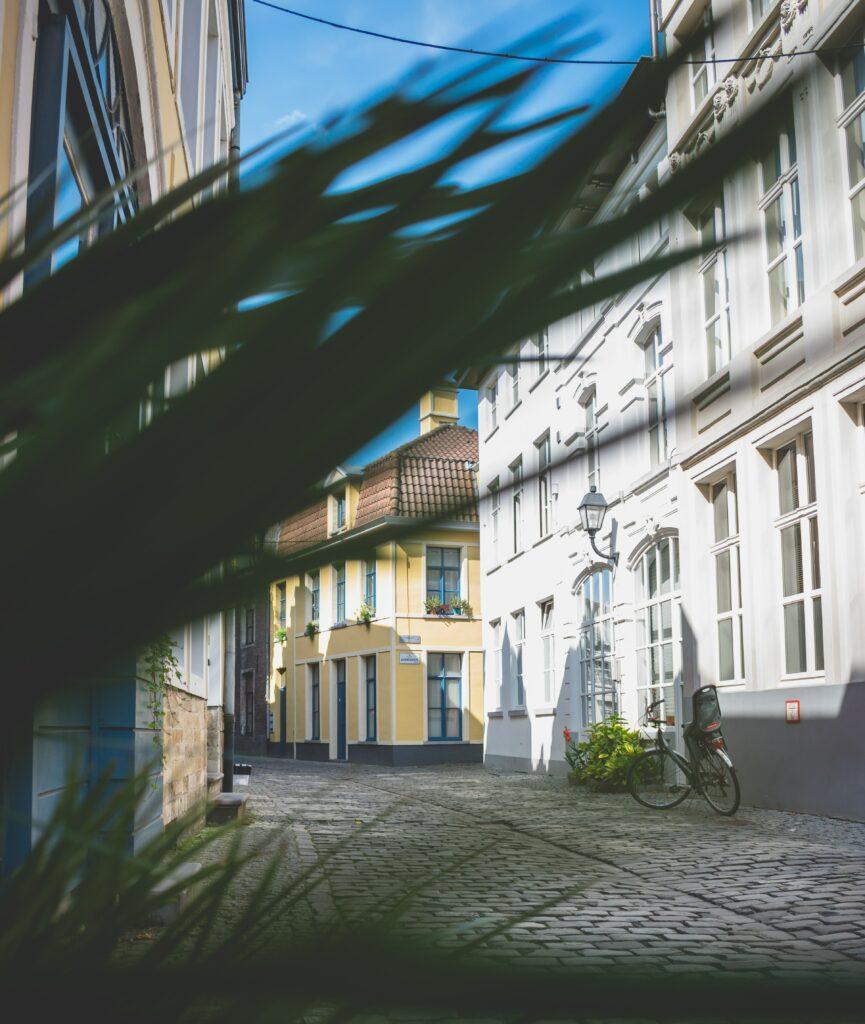 Fietsen doorheen hartje Gent
