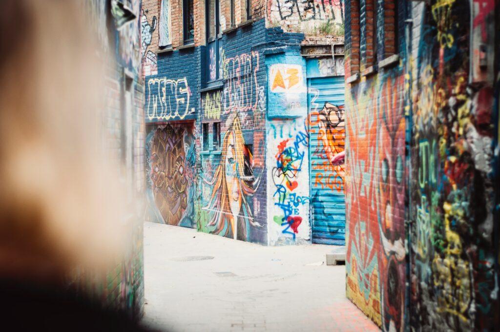 Street art in Gent