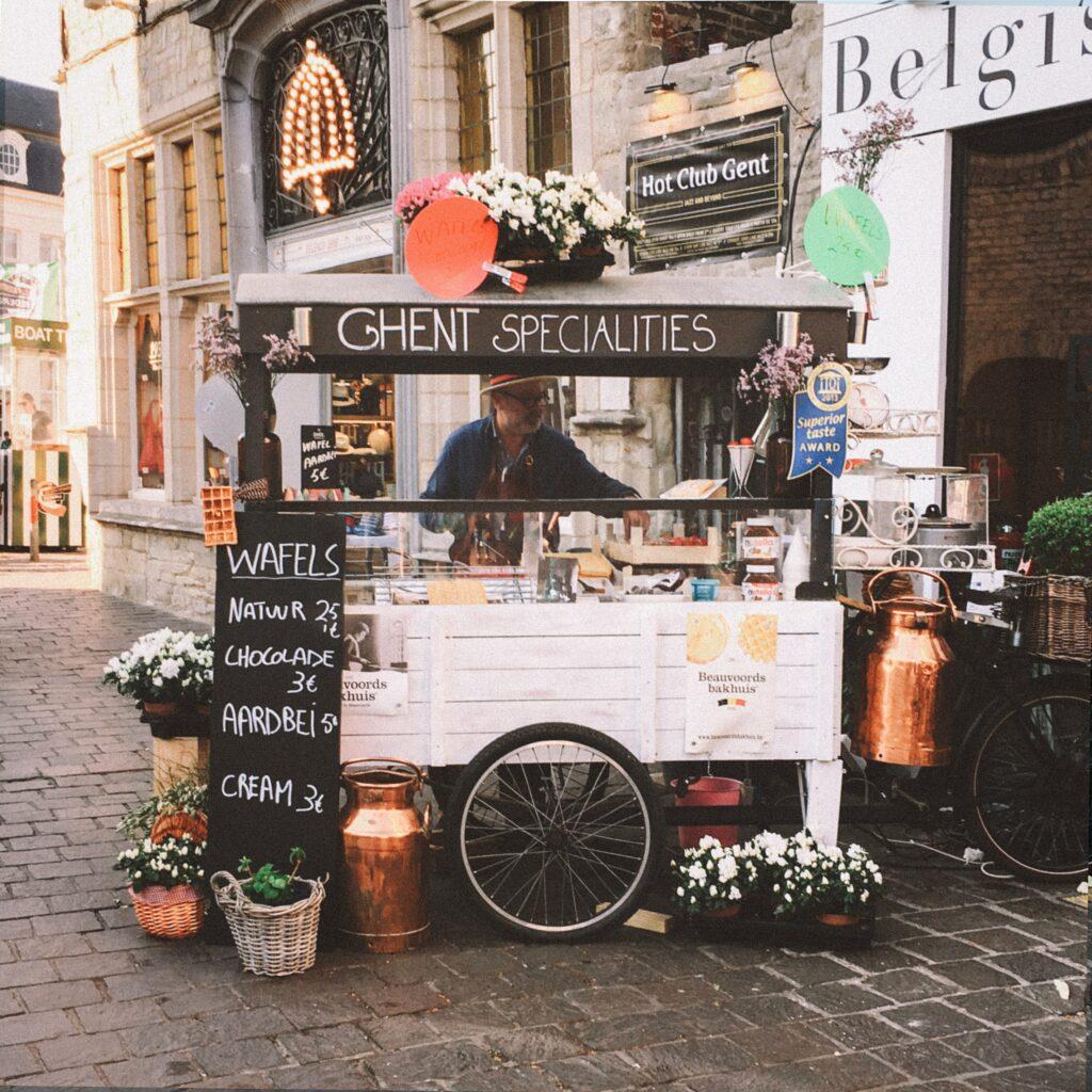 Lokale lekernijen van Gent