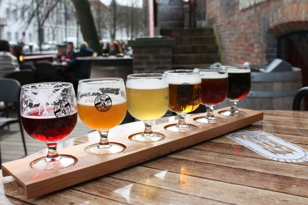 Dok brewing company in Gent