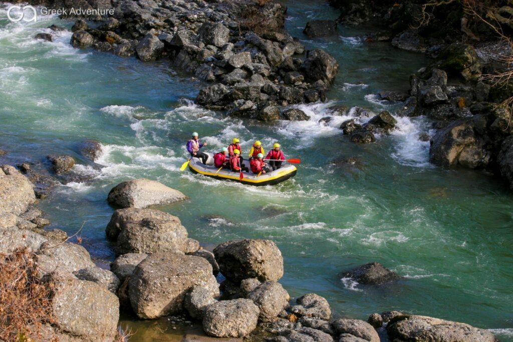 Rafting in groep Grevena